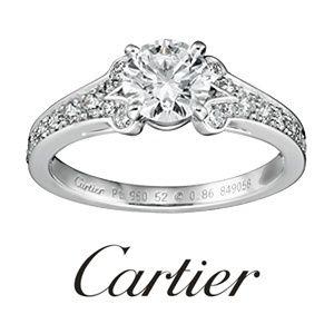 Cartier(カルティエ)の婚約指輪(エンゲージメントリング)|ゼクシィ ブランドリングコレクション