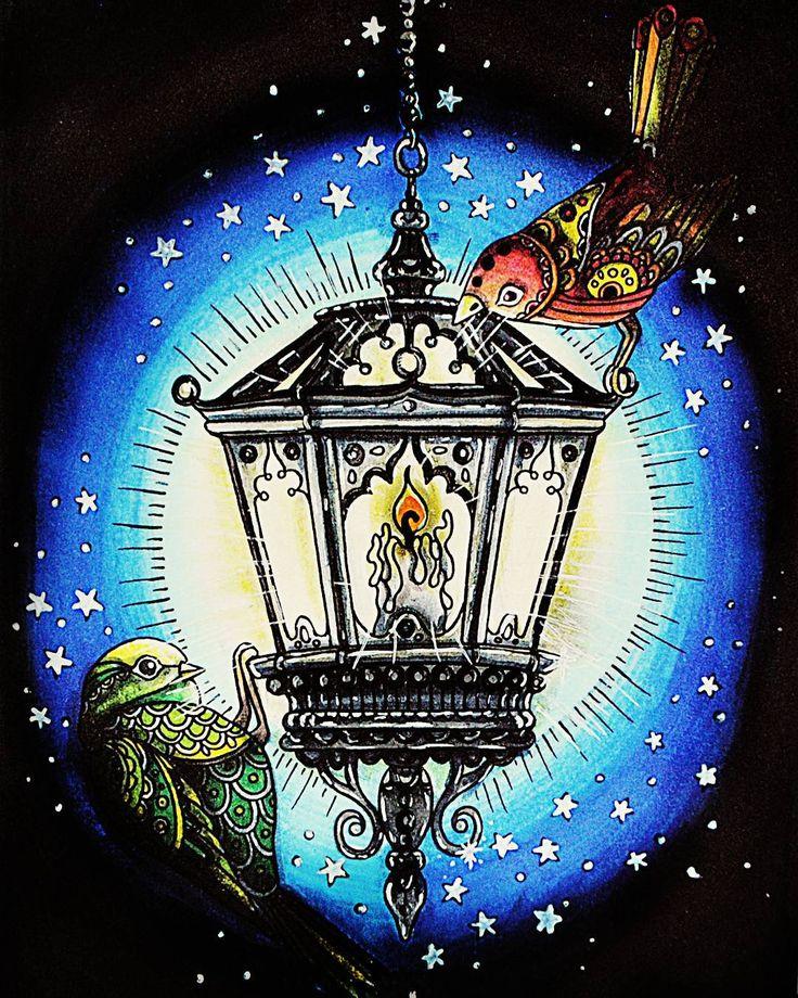 волшебные фонари картинки рисунки мой