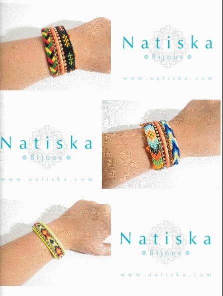 Natiska bijoux en vente sur le site