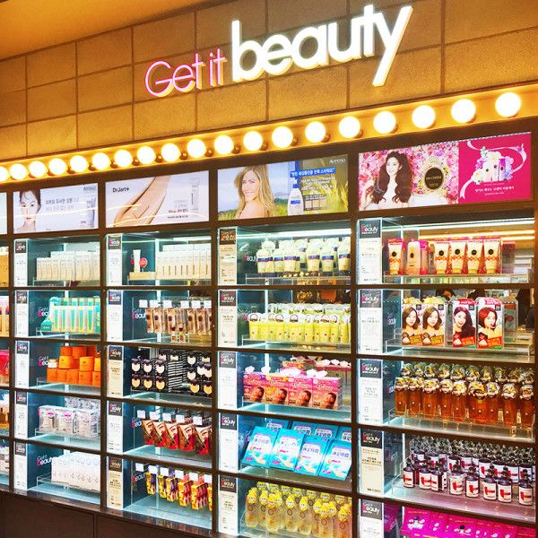 """Olive Young: The Sephora Of Korea - """"Olive Young in Myeongdong carries a wide range of international beauty brands. Considered the Sephora of Korea, thesestores can be spottedthroughout Seoul, but the one in Myeongdong is the largest. Check out theGet It Beautysection in the back, where winners from the popular TV show are showcased.""""9-20 Myeongdong 1(il)-ga, Jung-gu, Seoul"""