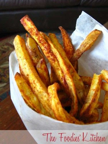 Oven Baked Sweet Potato Fries | Junk food | Pinterest