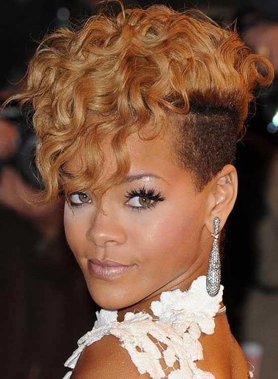 Rihanna Saç Modelleri