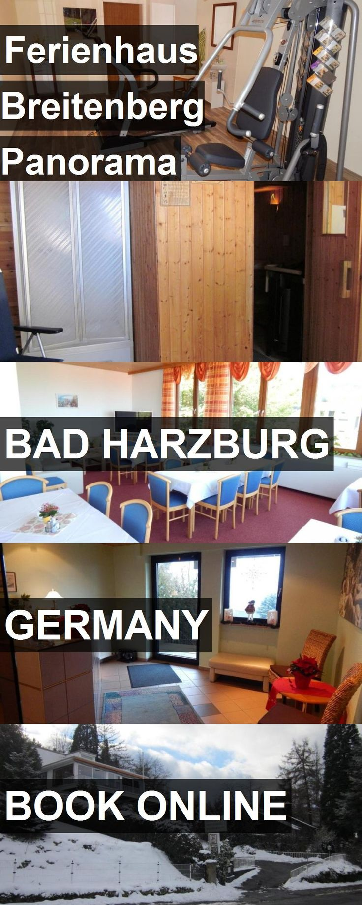 Hotel Ferienhaus Breitenberg Panorama in Bad Harzburg, Germany. For more information, photos, reviews and best prices please follow the link. #Germany #BadHarzburg #FerienhausBreitenbergPanorama #hotel #travel #vacation