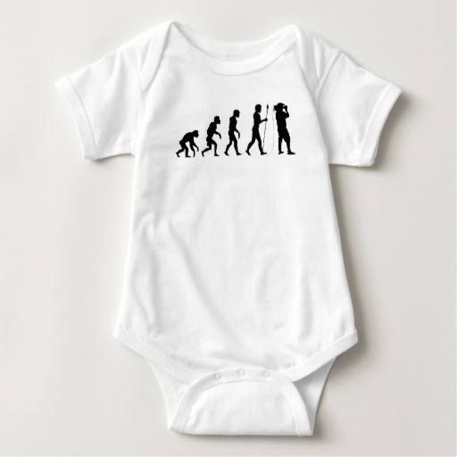 (Cameraman Evolution Baby Bodysuit) #Cameraman #Evolution #Evolve #Funny #Humor #Silhouette is available on Funny T-shirts Clothing Store   http://ift.tt/2e8gZQY