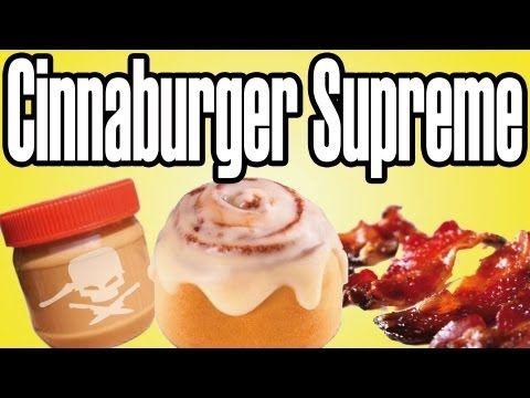 Cinnaburger Supreme - Epic Meal Time