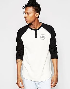 Camiseta de manga larga raglán de Dickies