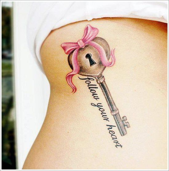 loyalty+key+tattoos | Special Tattoo Ideas, Lock Tattoo Design: Padlock Tattoo Designs and ...