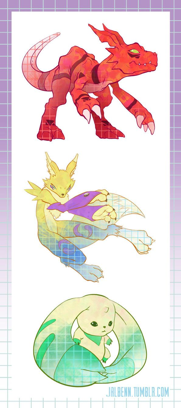 My last batch of digimon stickers that I will be creating. Terriermon was always a fav. You can pick up these designs, or seasons 1 and 2 digimon partners as stickers on my etsy HERE. Check out sea...