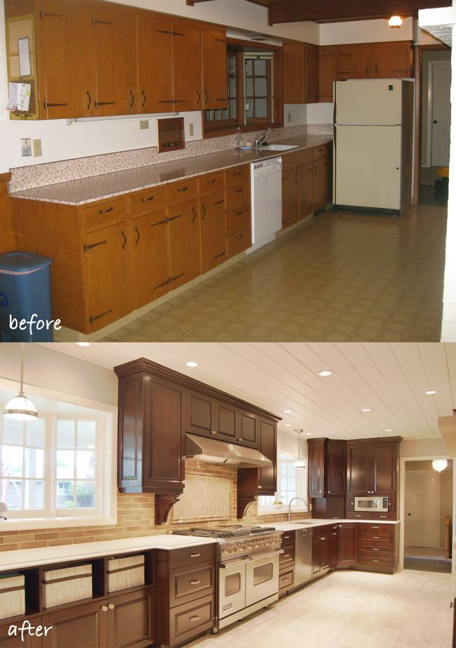 Before After Updating A 1950s Daylight Ranch