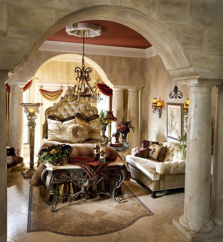 75 best sleep chic bedroom images on pinterest donna for Lavish bedroom designs