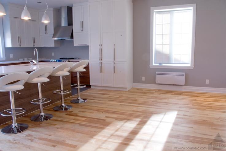 Plancher de merisier huilé - Wood floor, Armand Malo inc. manufacturier | www.boismalo.com|