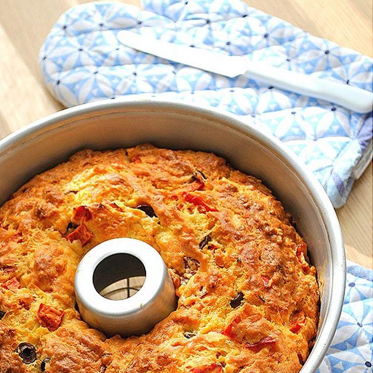 Μα...γυρεύοντας με την Αλεξάνδρα: Αλμυρό κέικ με γεύση πίτσας
