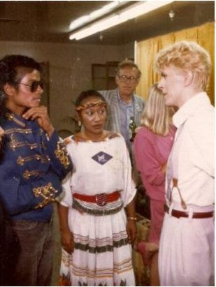 1983 - David Bowie and Michael Jackson, Concert | by TheLostChild's Gallery…