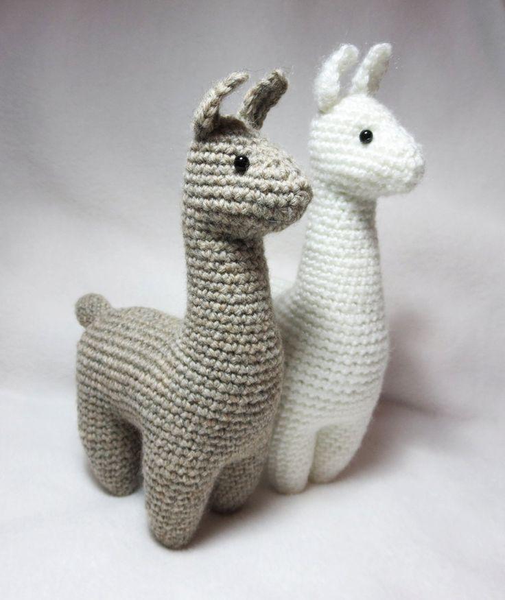 Crochet Pattern: Llama Amigurumi Plush by kamidake on Etsy