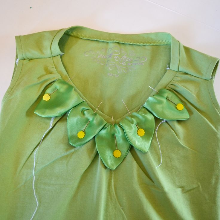 Going to use this tinker bell tutorial for my Halloween costume.