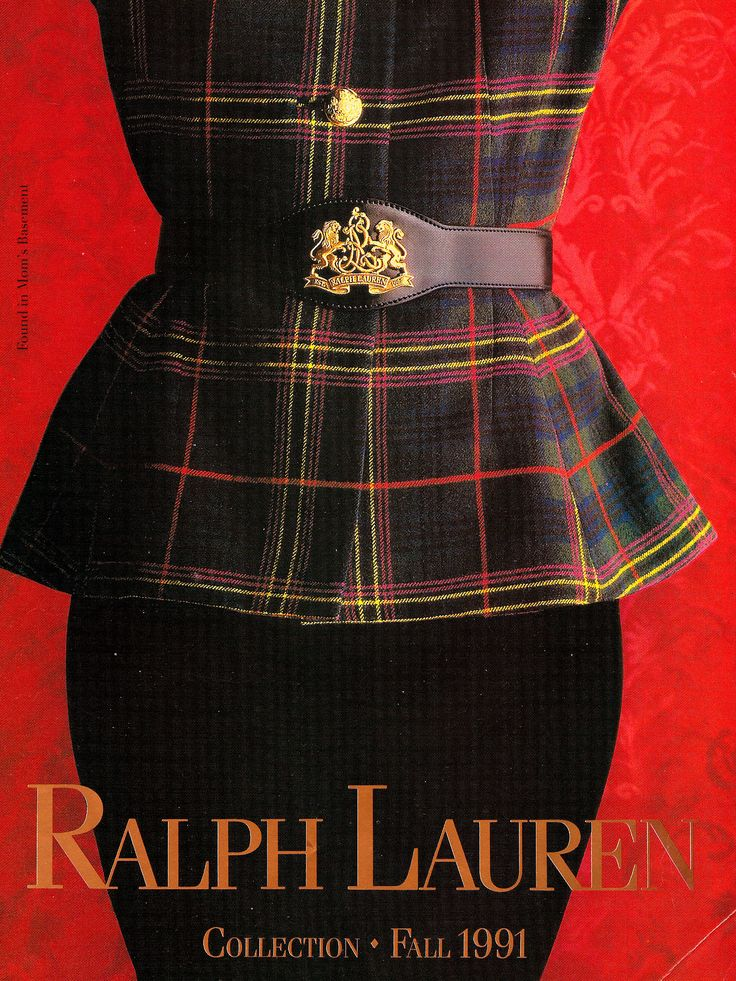 """""""I'm not a fashion person.I'm interested in longevity, timelessness,  style—not fashion.""""-Ralph Lauren [Fall Collection style never fades]"""