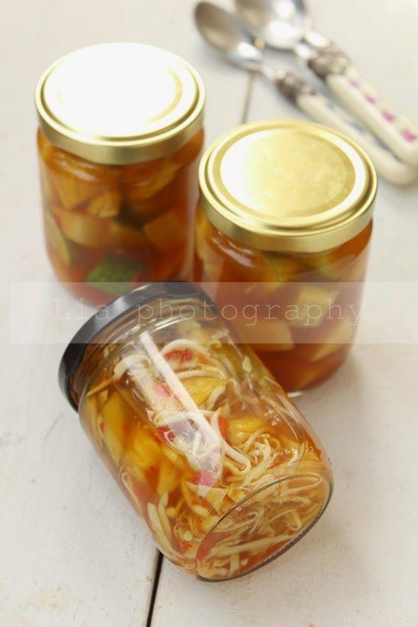 la cuisine de Lia: Asinan Buah dan Sayuran