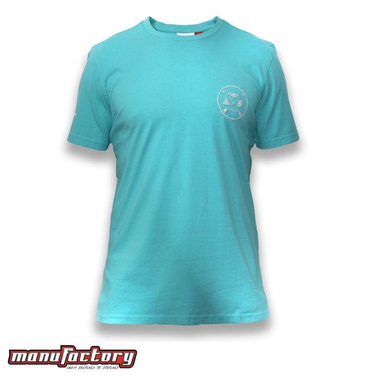 Mens T-shirt, Insignia, Teal
