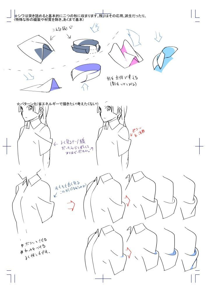 How to Draw Clothes Anime/Mangá Style Tutorial