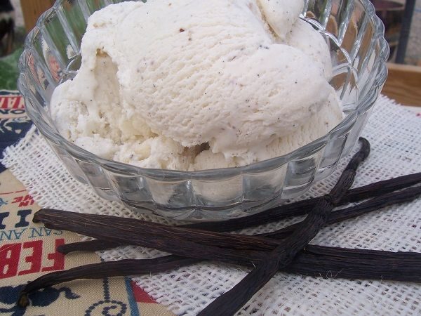 simple no cook vanilla ice cream.  have made this a few times and it's really nice.