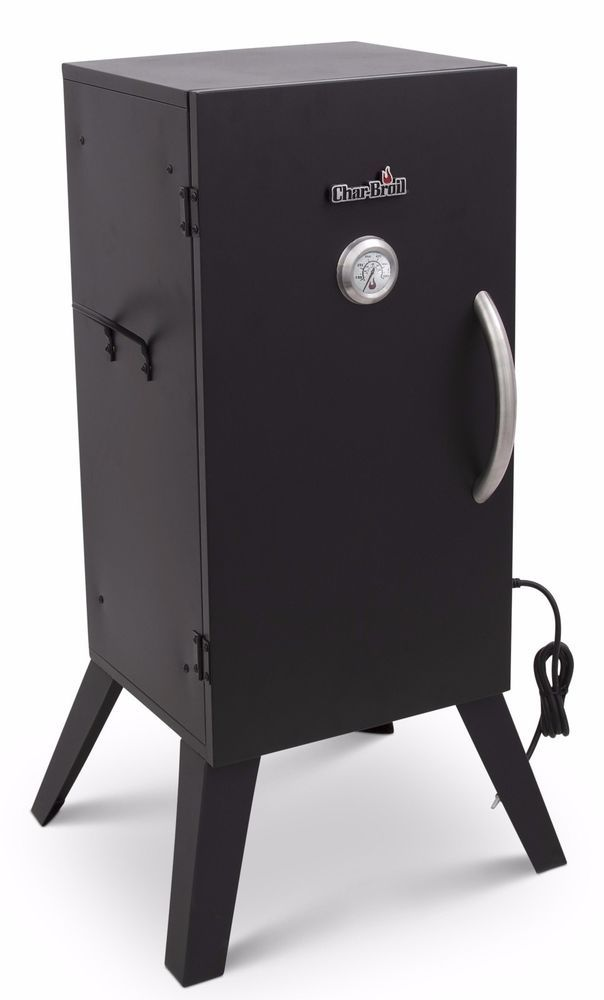 Electric Meat Smoker BBQ Grill Vertical Barbecue Outdoor Cooker Patio Backyard #BBQSmokersCollection