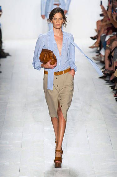 New York Spring 2014 Trend Report - Runway Spring Fashion Trends 2014 - Harper's BAZAAR OH Michael Kors, you never cease to amaze me.