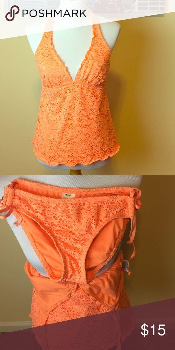2 piece bathing suit Orange two piece bathing suit Mossimo Supply Co. Swim Bikinis
