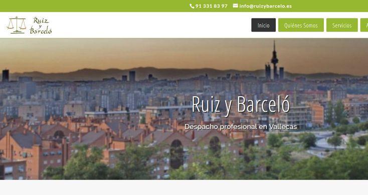 Entregamos la creación del diseño web para esta empresa de Madrid dedicada desde hace mas de una docena de años al asesoramiento y defensa legal, ases