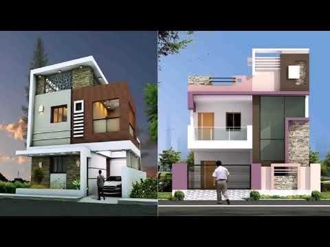 Indian Style Two Floor House Designs Staircase Elevation Youtube Modern House Exterior House Balcony Design Front Elevation Designs