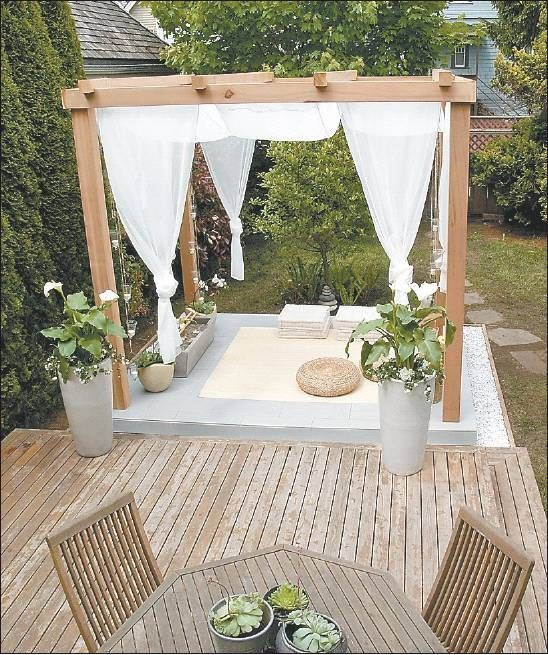 home-yoga-room-outside-deck.... If only I lived in a climate in which this was possible! https://www.facebook.com/pages/Yoga-Society/321264924688164