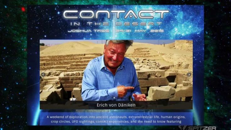 Erich Von Daniken - Feb 5, 2015 - with Dr. J Andy Ilias -  (ROAM RADIO)