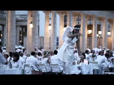 パリ発のシークレット・ディナーパーティー「ディネ・アン・ブラン」上陸 - ドレスコードは白一色   ニュース - ファッションプレス