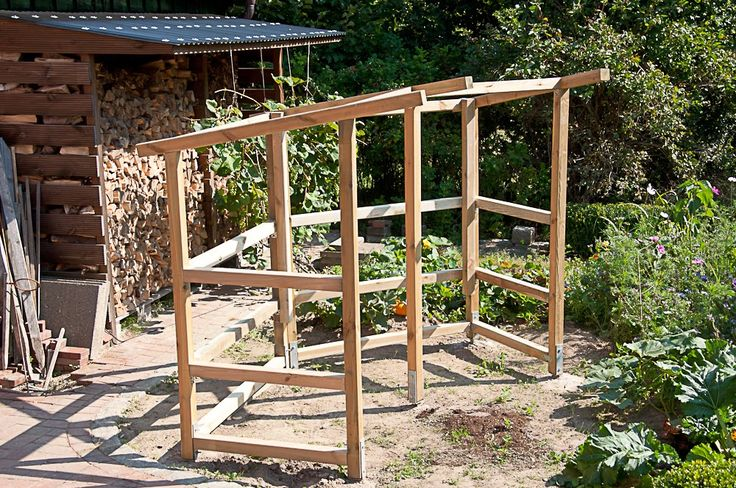 Bauanleitung Tomatenhaus