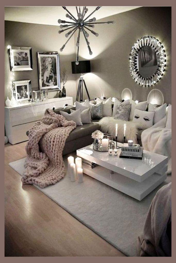 Cozy Neutral Living Room Ideas Earthy Gray Living Rooms To Copy Clever Diy Ideas Living Room Grey Living Room Decor Gray Living Room Decor Cozy