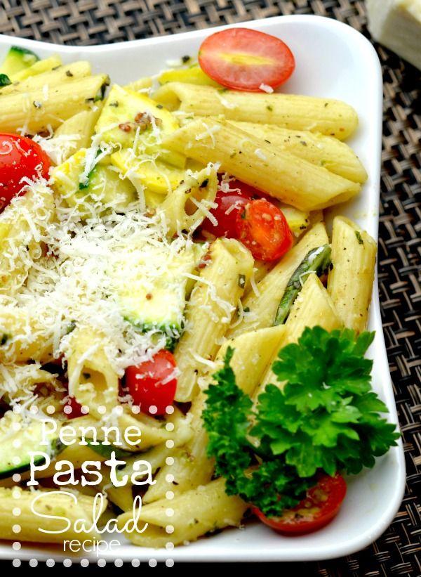 Easy Penne Pasta Salad Recipe - Wanna Bite