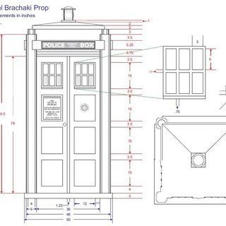 Tardis Bookcase Blueprints Bookshelf With Sound And Lights