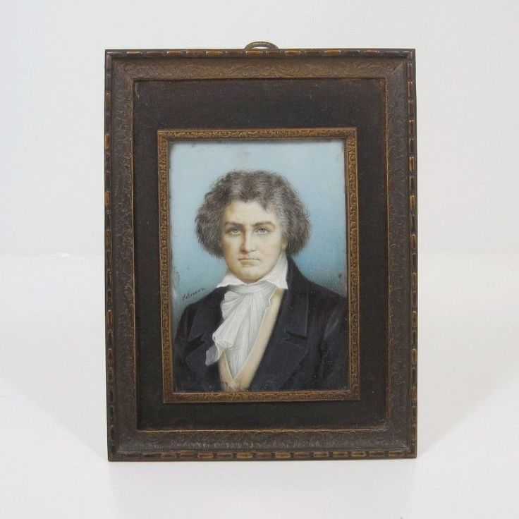 19TH CENTURY MUSEUM QUALITY MOZART REVERSE OIL ON GLASS VOGEL