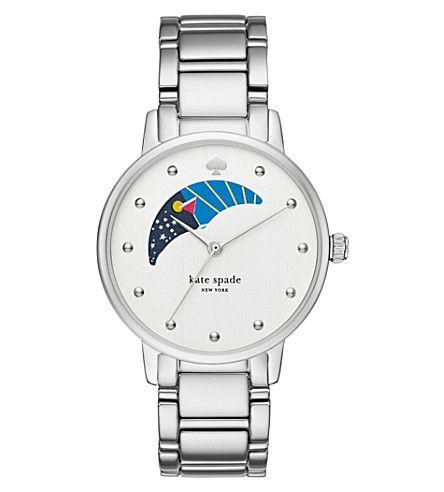 KATE SPADE Ksw1075 Gramercy Stainless Steel Watch. #katespade #womens fashion watches