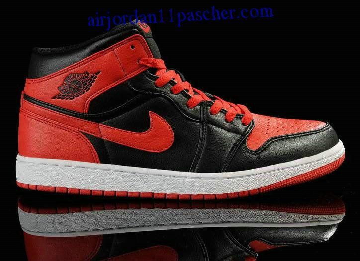 Air Jordan 1 Noir Rouge Chaussures