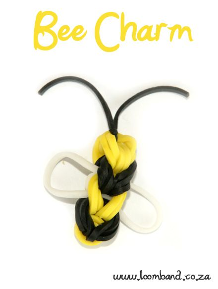 Bee Loom Band Figurine Tutorial, instructions and videos on hundreds of loom band designs. Shop online for all your looming supplies, delivery anywhere in SA.