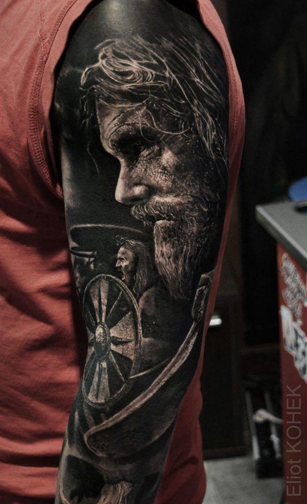 5eddd1794 incredibly realistic 3d tattoos by eliot kohek 3 14 Incredibly Realistic 3D  Tattoos by Eliot Kohek
