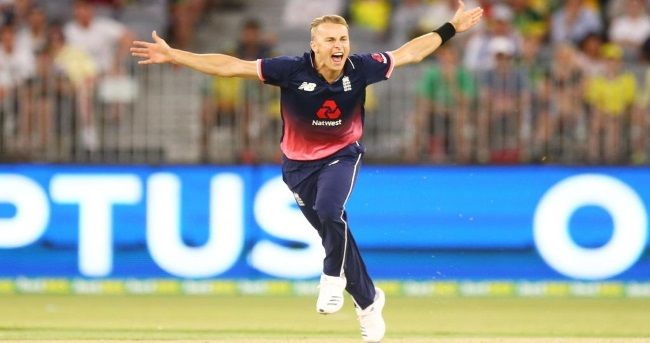 Pacer Tom Curran bagged a five-wicket haul to help England defeat Australia by 12 runs in the fifth One-Day International (ODI) at the Perth Stadium here on Sunday.