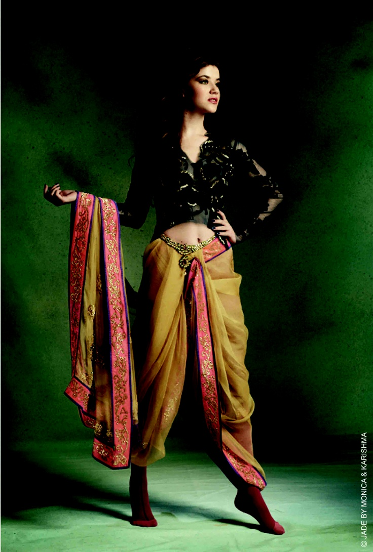A design from the upcoming JADE Saree Festival.
