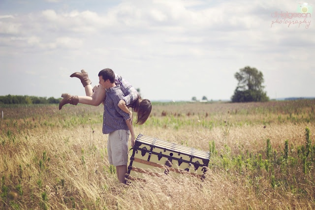 D. Helgeson Photography \u00a9 2012 couples photography country vintage posing engagement |