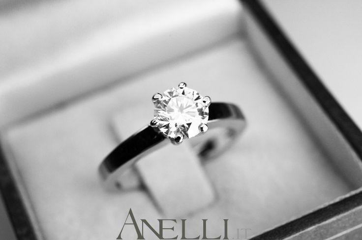 Solitario di 1 carato colore D purezza IF 37.700€ iva inclusa #solitari #diamanticoloreD #anellicondiamanti #anellisolitario - www.anelli.it info@anelli.it http://www.anelli.it/it/anelli-solitario/solitario-diamante-1-carato-d-if-certificato-gia.html