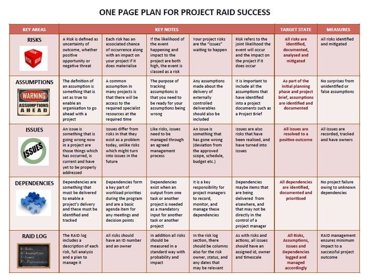one-page-plan-for-project-raid-success.png (832×629)