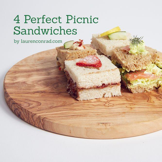 Recipe Box: 4 Perfect Picnic Sandwiches w/ a gourmet twist