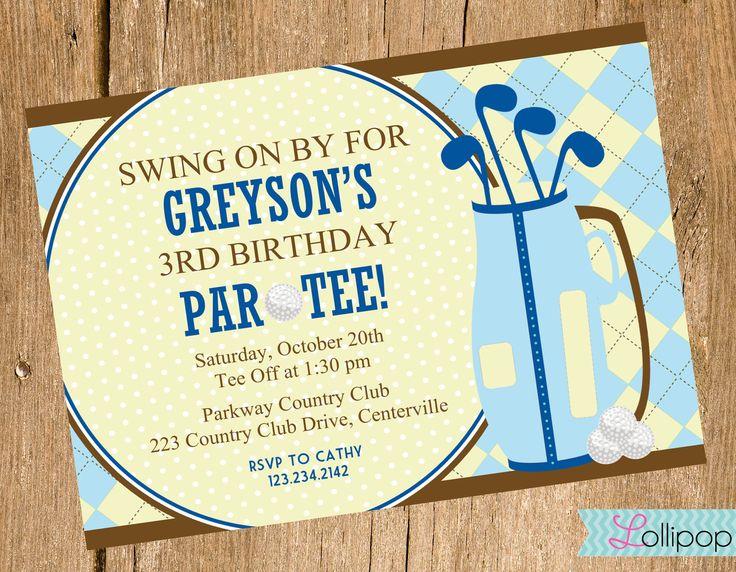 Free Golf Themed Birthday Invitations ideas Download this – Golf Themed Birthday Invitations