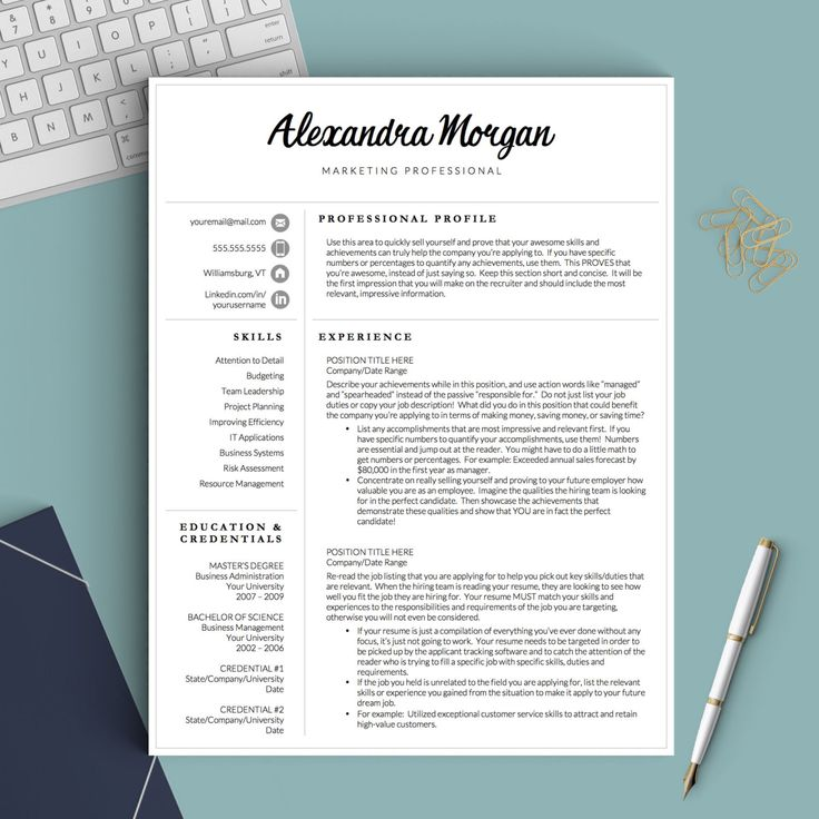 13 best Teacher Resume Templates images on Pinterest Resume - mac pages resume templates