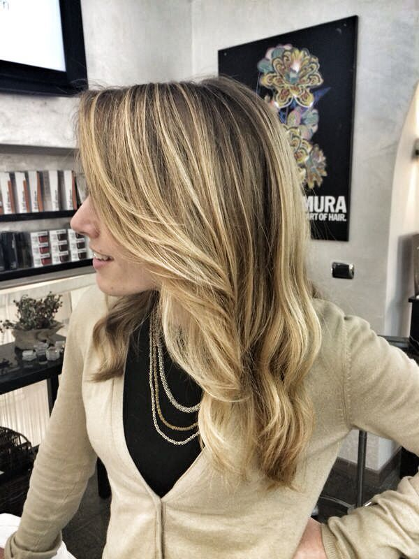 Soft ombre hair !!! New color by Bartorelli Roma